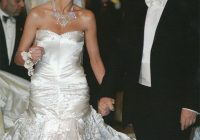 it might have been love at first sight for donald but when Melania Trump Wedding Dress