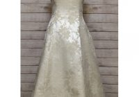 ivory and gold scott mcclintock wedding gown Scott Mcclintock Wedding Dresses