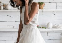ivory cotton eyelet lace monaco crop top casual wedding dress size 4 s 54 off retail Eyelet Lace Wedding Dress