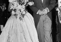 jacqueline kennedy onassis from celeb wedding dresses e news Jacqueline Bouvier Wedding Dress