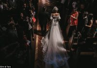 jaton couture wedding dress that weighs 18kg and costs 40k J Aton Couture Wedding Dress For Sale