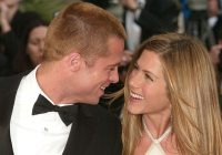 jennifer aniston and brad pitt wedding facts popsugar Jennifer Aniston Wedding Dress Brad Pitt