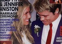 jennifer aniston brad pitt in 2020 jennifer aniston Jennifer Aniston Wedding Dress Brad Pitt