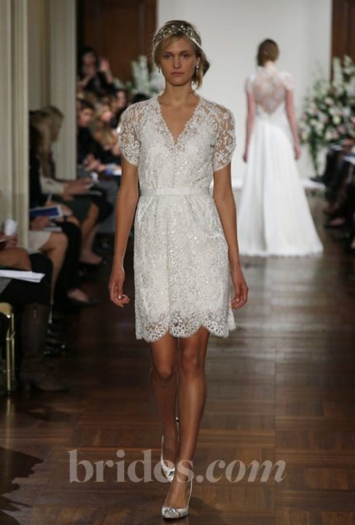 Permalink to Beautiful Jenny Packham Short Wedding Dress Gallery