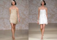 jenny packham short wedding dresses pictures ideas guide Jenny Packham Short Wedding Dress