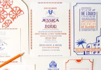 jessica todds art deco letterpress wedding invitations Best Letterpress Wedding Invitations