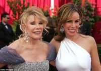 joan rivers had to woo daughter back after melissa blamed Melissa Rivers Wedding Dress