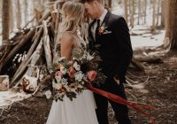 just like this couples love this skyliner lodge wedding in Wedding Dresses Bend Oregon