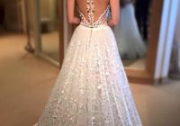 just look at the beautiful back and dramatic skirt on this Wedding Dresses With Dramatic Backs