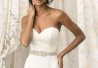 justin alexander ivorysilver satin tulle 9903 sexy wedding dress size 4 s 63 off retail Justin Alexander Wedding Dress s