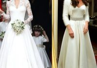 kate middleton wedding reception dress fashion dresses Kate Middleton Reception Wedding Dress