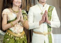 khmer wedding outfits Cambodian Wedding Dress