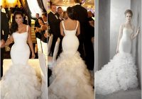 kim kardashian vera wang wedding dress luxury brides Vera Wang Kim Kardashian Wedding Dress