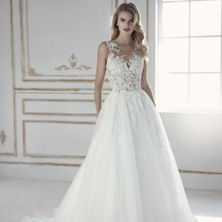 Permalink to Stunning Pronovias Wedding Dress  Gallery