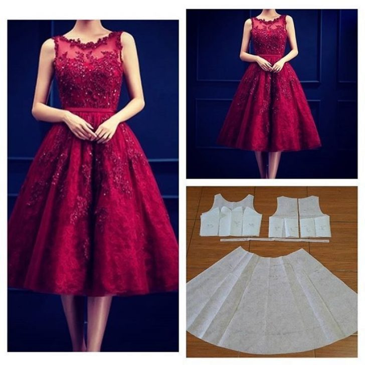 Permalink to Pretty Latest Dress Patterns With Lace Ideas