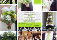 lime green black damask wedding invitations monogramgalleryca Lime Green And Black Wedding Invitations