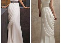 listing Grecian Goddess Wedding Dress