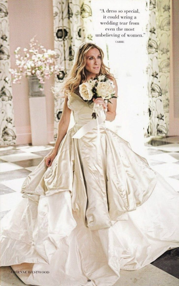 Permalink to 11 Carrie Bradshaw Wedding Dresses