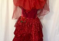lydia deetz wedding dress beetlejuice replica cosplay sizes 2 20 Beetlejuice Red Wedding Dress