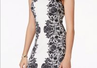 macys black and white lace bodycon dress nwt Macy Dresses For Weddings