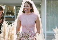 mandy moores wedding dress was pink perfection onefabday Mandy Moore Wedding Dress