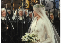marias wedding dress is up for auction the sound of music Maria Von Trapp Wedding Dress