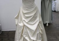 marisa bridal ivory silk 744 strapless 105l formal wedding dress size 10 m 90 off retail Marisa Wedding Dresses