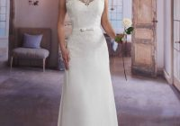 marys bridal 2626 informal wedding dress with lace Marys Bridal Wedding Dresses
