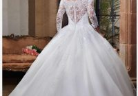 marys bridal white polyester lace and tulle fairy tale princess f15 6362 modest wedding dress size 8 m 72 off retail Marys Wedding Dresses