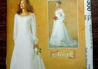 mccalls alicyn wedding dress pattern 4300 uncut sizes 10 16 Mccall Wedding Dress Patterns