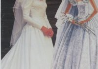 mccalls wedding dress pattern priscilla size 6 8 10 vintage bridal gown Mccall Wedding Dress Patterns