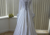 medieval handfasting gowns for a pagan bride Wiccan Wedding Dresses