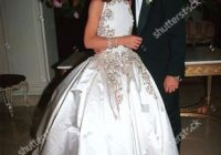 melissa rivers her husband on their wedding editorial stock Melissa Rivers Wedding Dress
