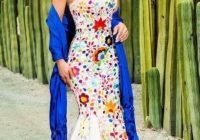 mexican embroidered wedding dress mexican dresses mexican Mexican Embroidered Wedding Dress