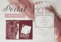 Modern affordable wedding invitations with response cards at Wedding Save The Date And Invitation Packages Design