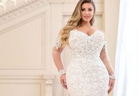 Modern beautiful plus size wedding dresses for curvy brides the Trendy Designer Plus Size Wedding Dresses Designs