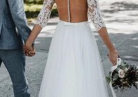 Modern pin on spring wedding ideas Perfect Lace Dress With Sleeves Wedding Ideas