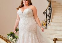 Modern plus size wedding dresses bridal gowns essense of australia Trendy Designer Plus Size Wedding Dresses Designs