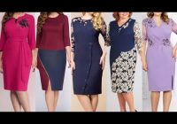 Modern top54 extremely beautiful plain sheath dress with Pretty Latest Dress Patterns With Lace Ideas