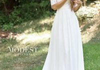 modest wedding dress coll 5 totally modest wedding dresses Lds Wedding Dresses