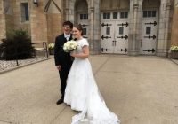 modest wedding dress with short sleeves lace wedding dress lds wedding dress mormon wedding dress jewish wedding dress adalia Lds Wedding Dress