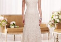 modified a line lace wedding dress with sweetheart neckline Modified A Line Wedding Dresses