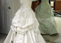 more french bustles French Bustle Wedding Dress