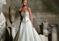 mori lee bridal 2703 Basque Waist Wedding Dress