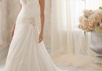 mori lee chiffon with microbeading elegant occasions gowns Wedding Dresses Lincoln Ne