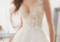 mori lee madeline gardner wedding dress collection blu Mori Lee Blu Wedding Dresses