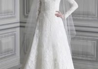 my bridal fashion guide to long sleeved wedding dresses Long Sleeved Wedding Dresses Vera Wang
