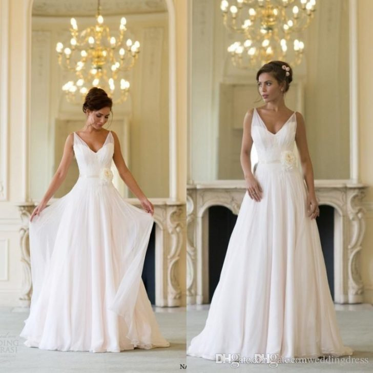 Permalink to 11 Grecian Style Wedding Dresses Gallery