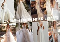 New 25 gorgeous wedding dresses on trend for brides to try in Gorgeous Simple Wedding Dresses 2021