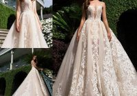 new lace ball gown wedding dresses sheer illusion plunging neckline backless applique lace custom made plus size bridal gowns mn bridal gowns wedding Pretty Wedding Dresses Mn